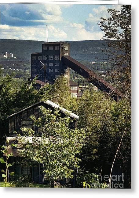 Harry E Colliery Swoyersville Pa Summer 1994 Greeting Card