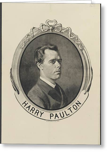 Harry Paulton Greeting Card by British Library