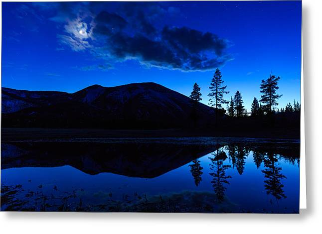 Hart Lake In Wyomings Greater Greeting Card