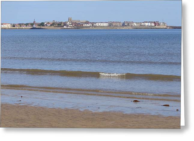 Hartlepools Headland Greeting Card
