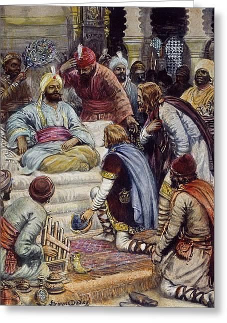 Harun Ar-rashid (763?-808) Greeting Card by Granger