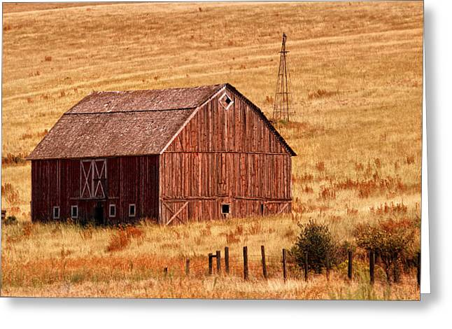 Harvest Barn Greeting Card