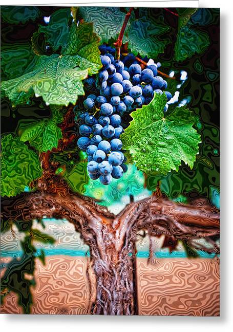 Harvest Details Greeting Card by Kristine Ellison