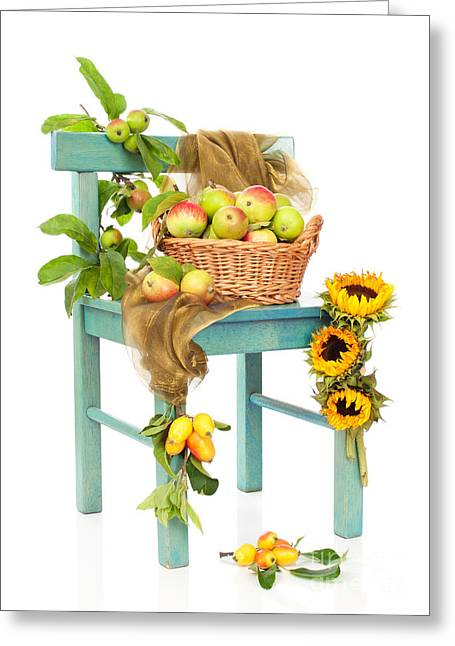 Harvest Fayre Greeting Card