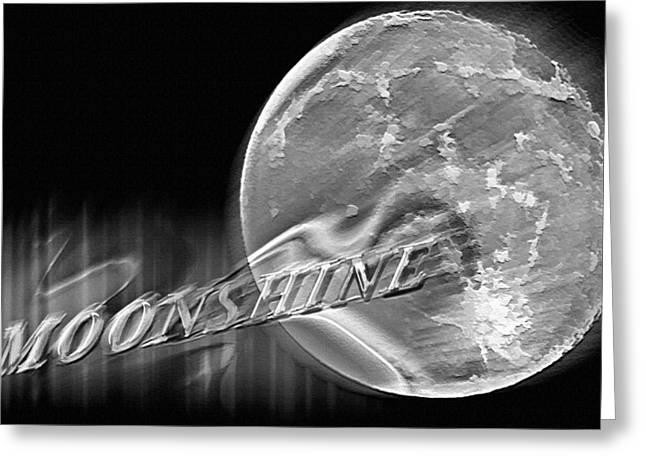 Harvest Moon - Moonshine 2 Greeting Card by Steve Ohlsen