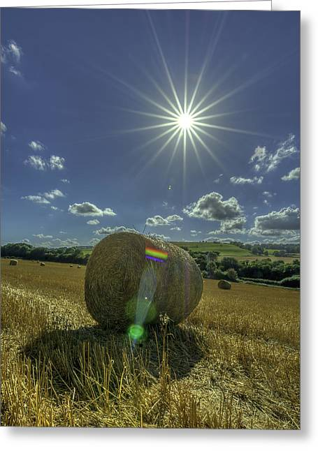 Harvest Sun Greeting Card