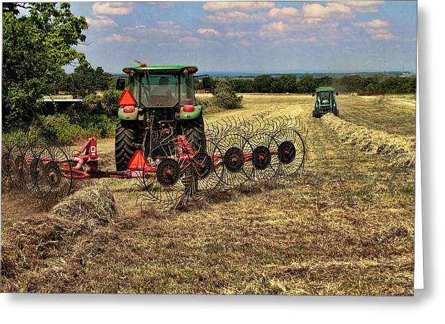 Harvest Time Again Greeting Card