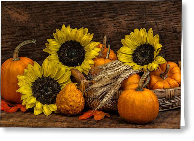 Harvest-time Greeting Card