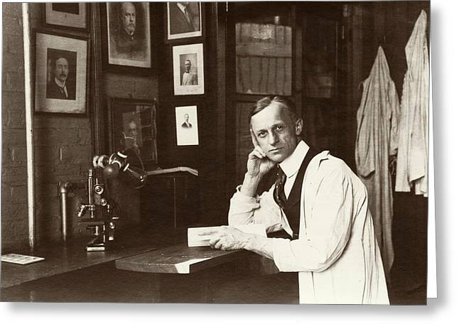 Harvey Cushing Greeting Card by American Philosophical Society