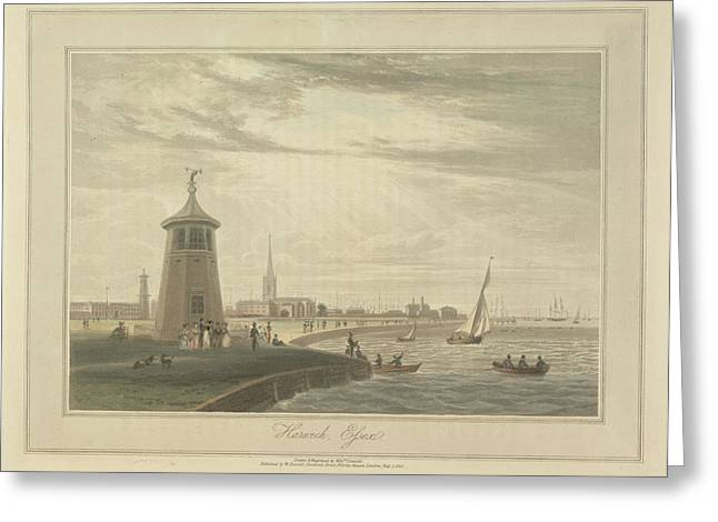 Harwich Greeting Card by British Library