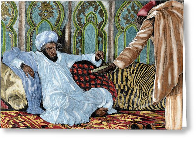 Hassan I (1836-1894 Greeting Card by Prisma Archivo