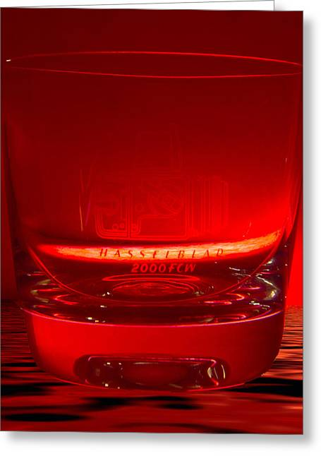 Hasselblad 2000fcw Glass Greeting Card by David French