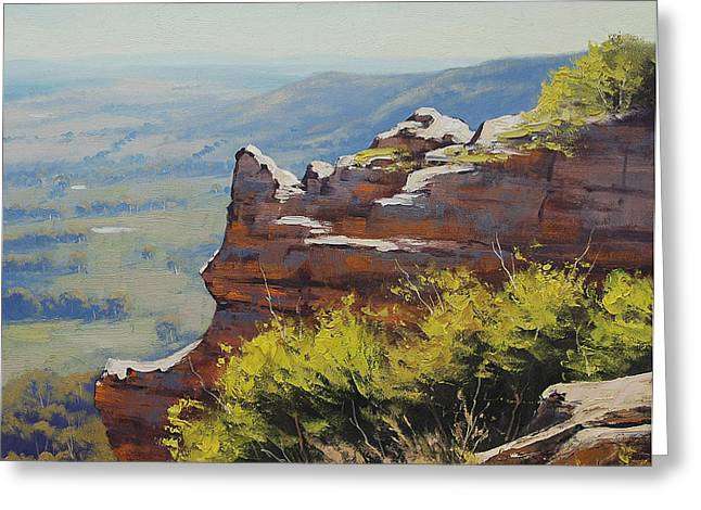 Hasson Wall Lithgow Greeting Card
