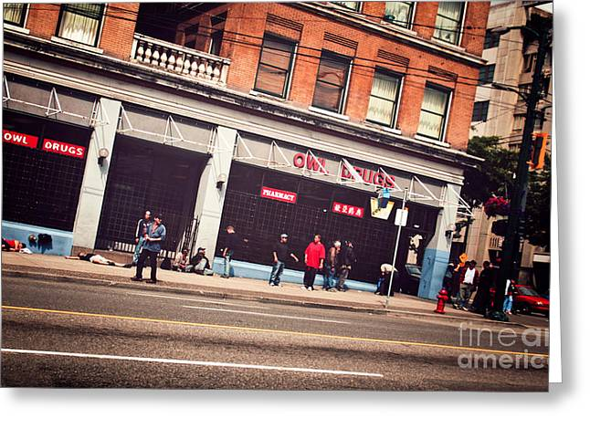 Hastings Street Greeting Card by JR Photography