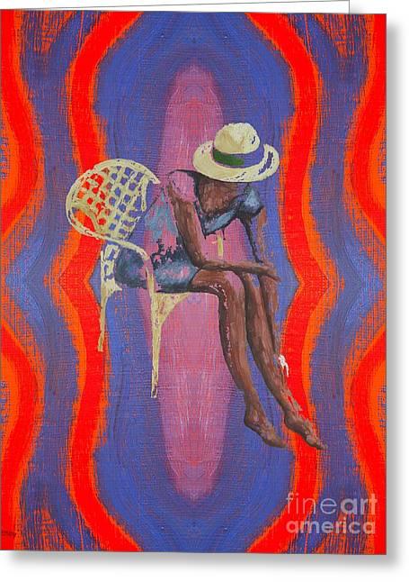 Hat 2 Greeting Card by Patrick J Murphy