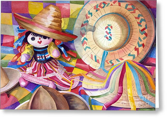 Hat Party IIi Greeting Card