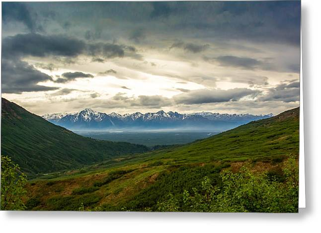 Hatcher Pass Alaska Greeting Card