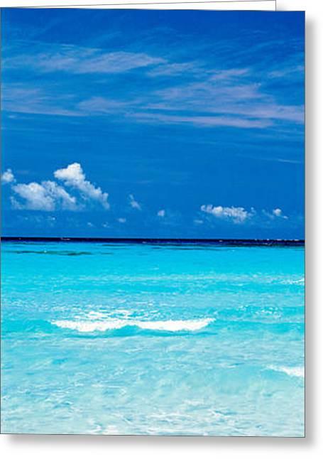 Hateno Beach Okinawa Kume Isl Japan Greeting Card