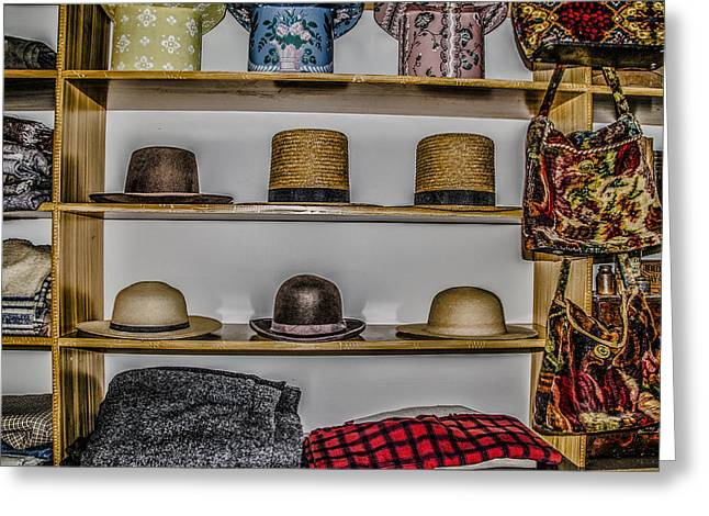 Hats For Sale Greeting Card