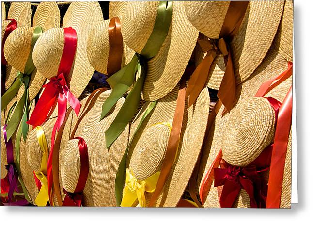 Hats Galore Greeting Card by Kathi Isserman