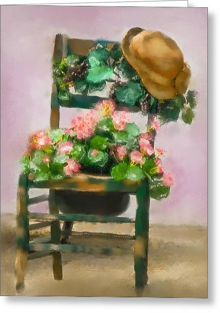 Hats Off Greeting Card by Mary Timman