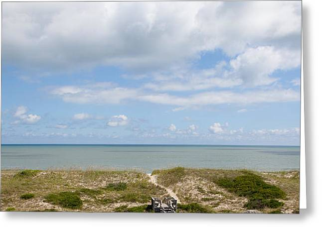 Hatteras Island View Greeting Card