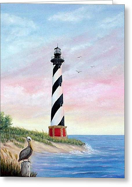Hatteras Sunrise Greeting Card