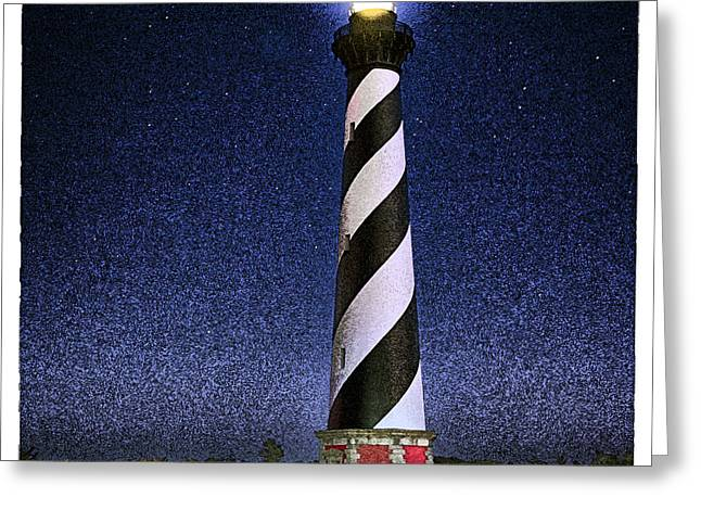 Hatteras Under Stars Greeting Card