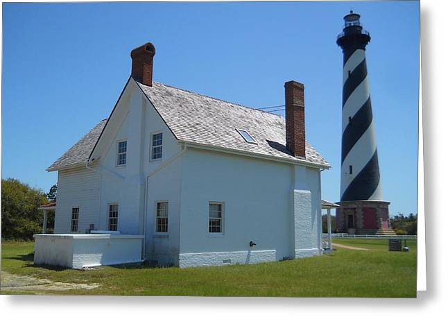 Hatteras View Greeting Card by Jeff Moose