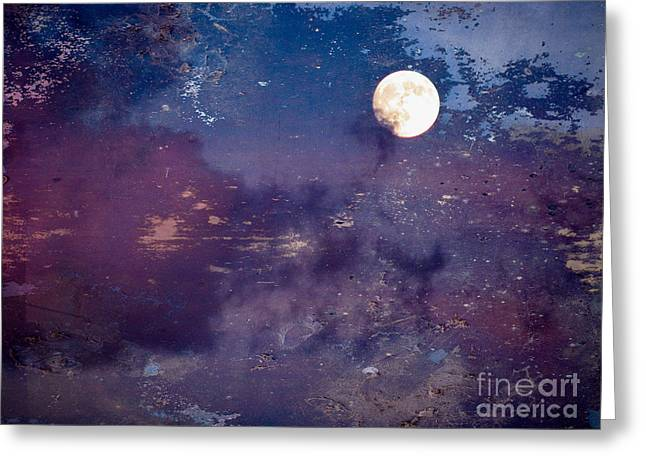 Haunted Moon Greeting Card