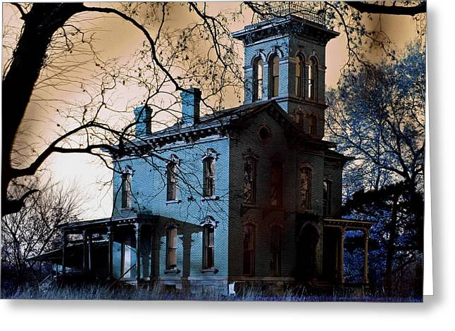 Haunted Sauer Castle Greeting Card by Christopher McKenzie