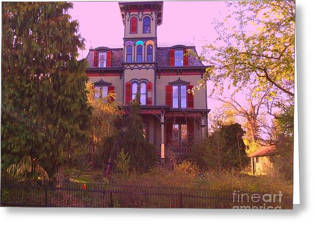 Greeting Card featuring the photograph Hauntingly Victorian 1 by Becky Lupe