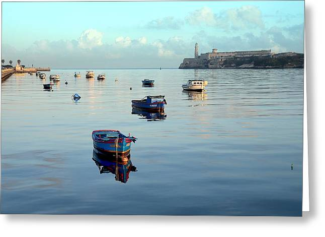 Havana Maritime 2 Greeting Card by Steven Richman