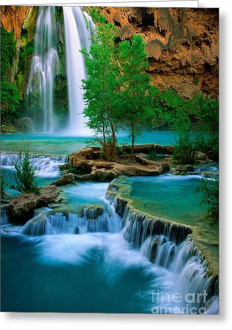 Havasu Canyon Greeting Card by Inge Johnsson