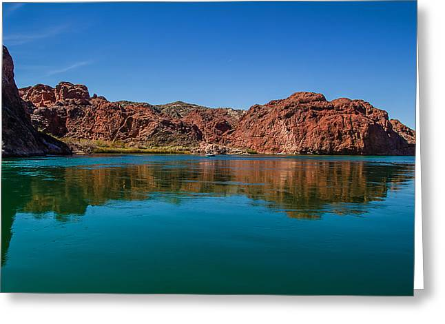 Greeting Card featuring the photograph Havasu Glass by April Reppucci