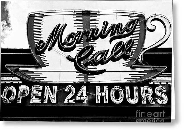 Have A Cup Of Coffee At Morning Call New Orleans Greeting Card