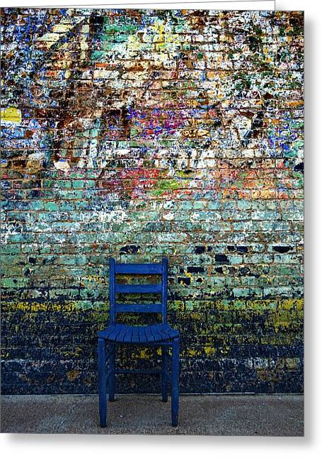 Have A Seat 2 Greeting Card by Kelly Kitchens