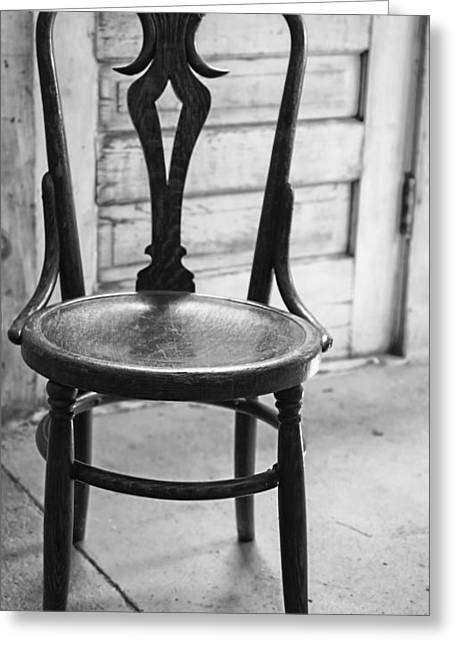 Have A Seat With History Greeting Card by Thomas Young