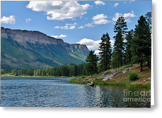Greeting Card featuring the photograph Haviland Lake by Janice Rae Pariza