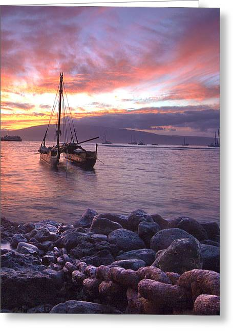 Hawaii Greeting Card by James Roemmling