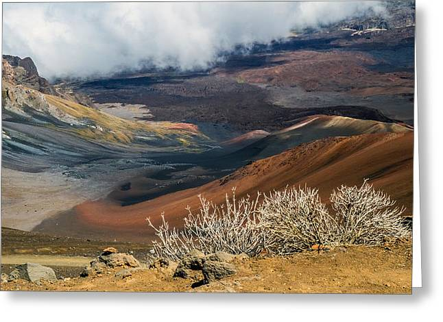 Hawaii Volcano Landscape Greeting Card by Pierre Leclerc Photography