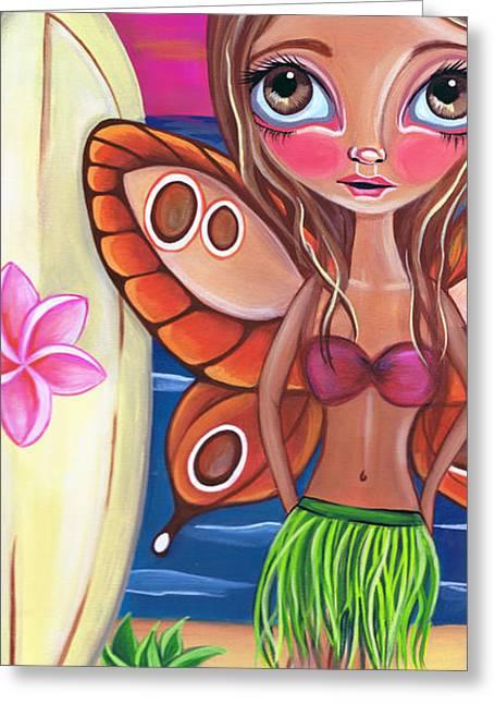 Hawaiian Fairy Greeting Card