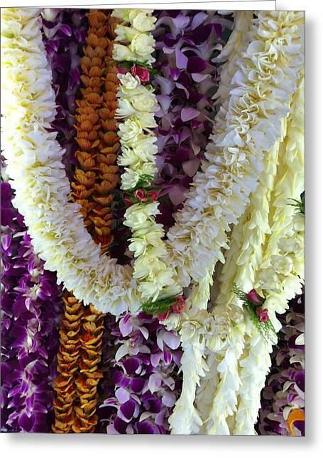 Hawaiian Leis Greeting Card