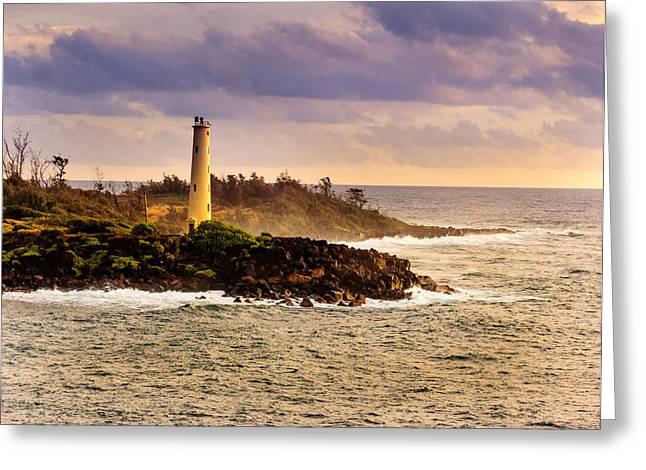 Hawaiian Lighthouse Greeting Card