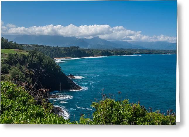 Hawaiian Paradise Greeting Card