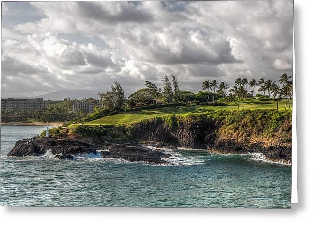 Hawaiian Shores Greeting Card by Bill Lindsay