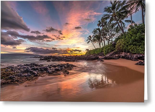 Hawaiian Sunset Wonder Greeting Card