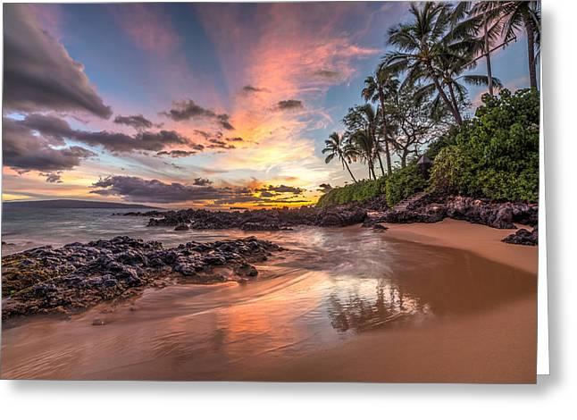 Hawaiian Sunset Wonder Greeting Card