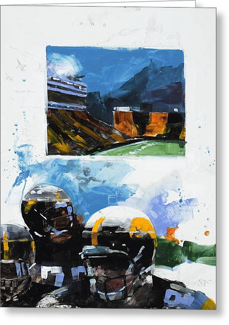 Hawkeye Kinnick Greeting Card