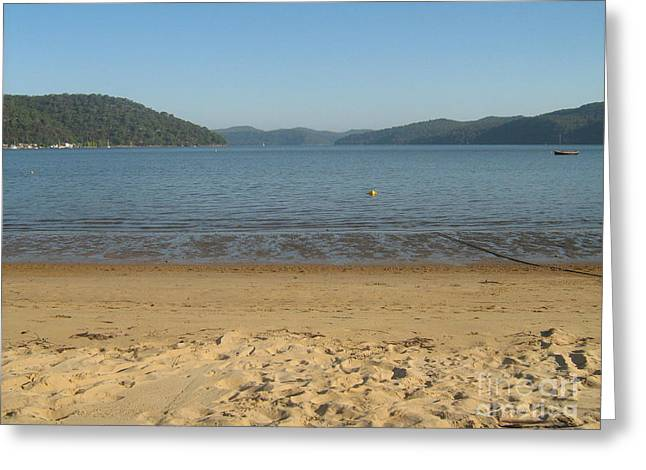 Greeting Card featuring the photograph Hawksbury River From Dangar Island by Leanne Seymour